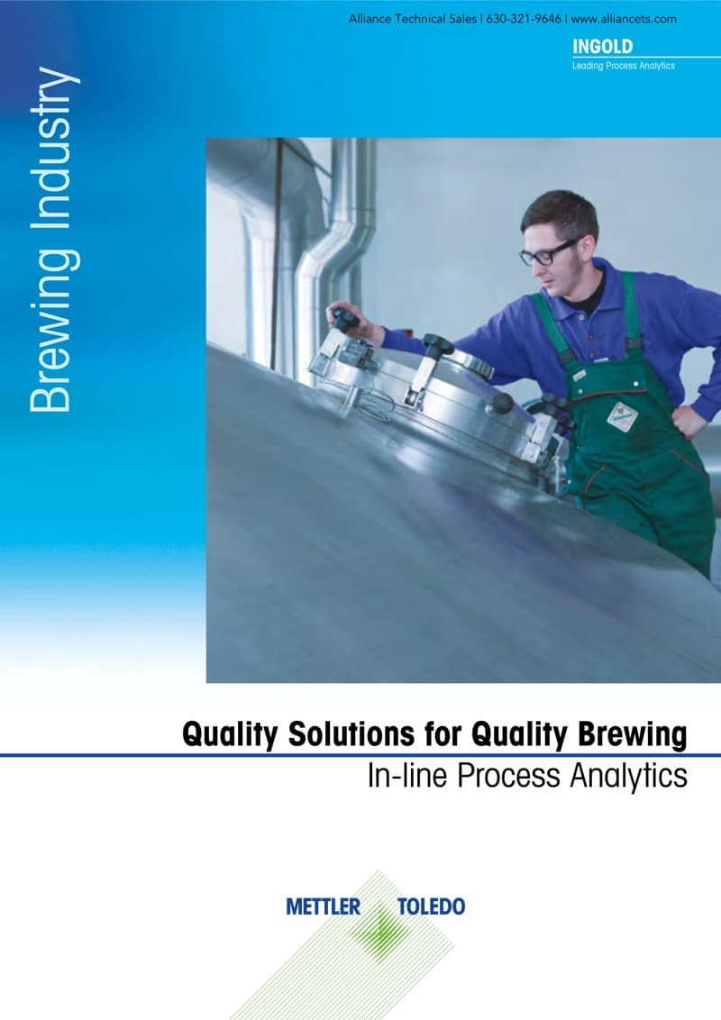 Quality Brewing with In-line Process Analytics